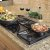 Additional Classic Gas Cooktop,, in Black with Liquid Propane High Altitude