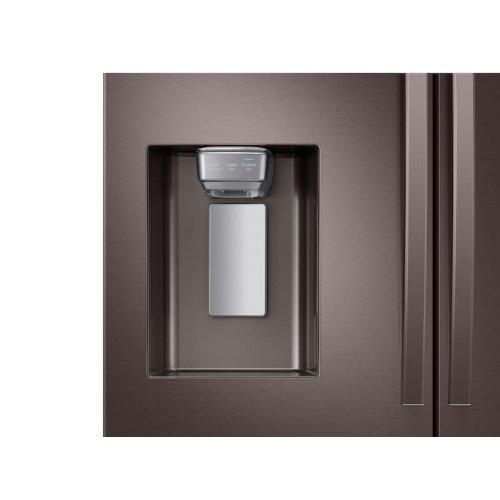 28 cu. ft. 4-Door French Door Refrigerator with FlexZone Drawer in Tuscan Stainless Steel