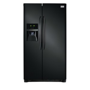 Gallery 25.6 Cu. Ft. Side-by-Side Refrigerator - EBONY BLACK