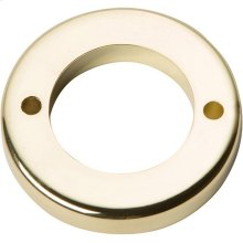Tableau Round Base 1 7/16 Inch - French Gold