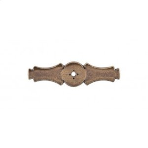 Celtic Backplate 3 5/8 Inch - German Bronze