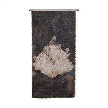 White Uranium Tapestry 26-inch x 57-inch