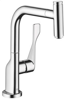 Chrome AXOR Citterio Select 1-Spray Kitchen Faucet, Pull-Out, 1.75 GPM