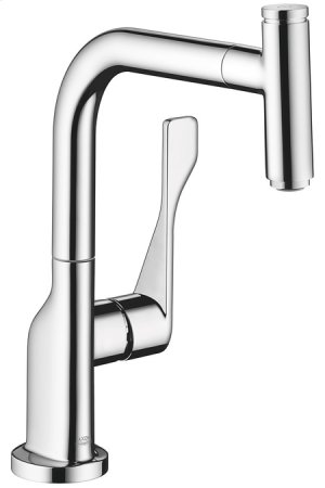 Chrome AXOR Citterio Select 1-Spray Kitchen Faucet, Pull-Out, 1.75 GPM Product Image