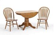 Dining - Classic Oak Solid Oak Drop Leaf Pedestal Top Product Image