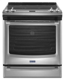 Maytag® 30-inch Wide Electric Range with Convection and Fit System - 6.4 cu. ft. - Stainless Steel