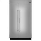 48-inch Stainless Steel Panel Kit for Fully Integrated Built-In Side-by-Side Refrigerator Product Image