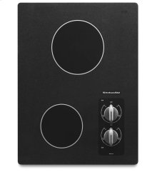15-Inch 2-Element Electric Cooktop, Architect® Series II - Black