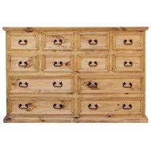 12 Drawer Mansion Dresser