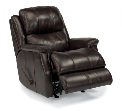 Mateo Leather or Fabric Rocking Recliner