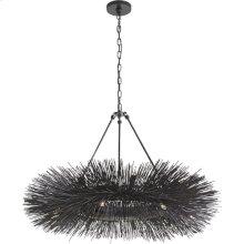 Visual Comfort KW5181AI Kelly Wearstler Strada 16 Light 40 inch Aged Iron Chandelier Ceiling Light