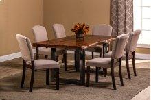 Emerson 7-piece Rectangle Dining Set - Natural Sheesham