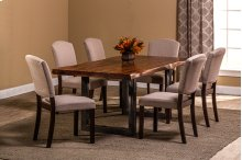 Emerson 7-piece Rectangle Dining Set - Natural Sheesham