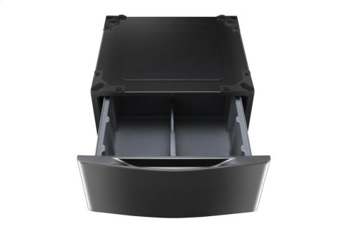 Laundry Pedestal - Black Stainless Steel