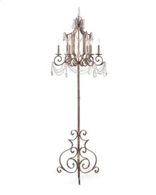 Six-Light Floor Chandelier
