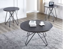"Derek Round Cocktail Table 36""x36""x18"" (30mm thickness)"