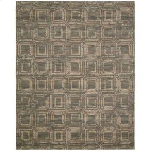 Silken Allure Slk24 Smoke Rectangle Rug 7'9'' X 9'9''