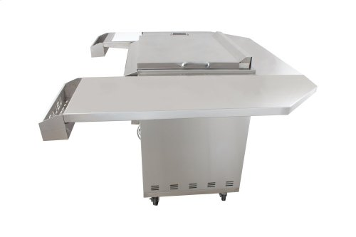 Blaze 30-Inch Griddle Cart Shelving Kit, With Fuel type - Propane