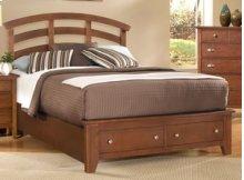 Arch Storage Bed