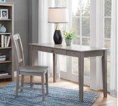 "48"" Writing Table Weathered Grey"