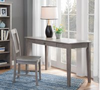 """48"""" Writing Table Taupe Gray Product Image"""