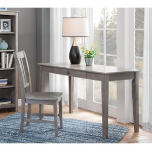 "JOHN THOMAS FURNITURE48"" Writing Table Taupe Gray"