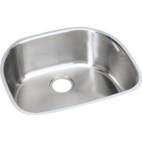 "Elkay Stainless Steel 23-9/16"" x 21-1/8"" x 10"", Single Bowl Undermount Sink"