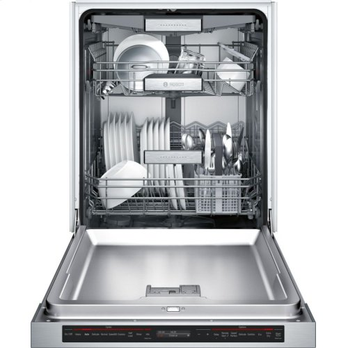800 Series built-under dishwasher 24'' Stainless steel SHEM78WH5N