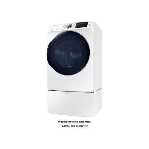 dv45k6200ew in white by samsung in wausau wi dv6200 7 5 cu ft