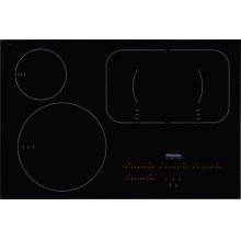 KM 6365 Induction Cooktop with PowerFlex cooking area for maximum versatility and performance.