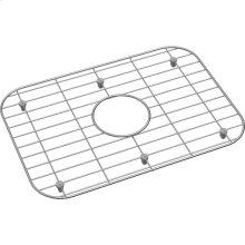 "Dayton Stainless Steel 17-1/2"" x 12-1/4"" x 1"" Bottom Grid"