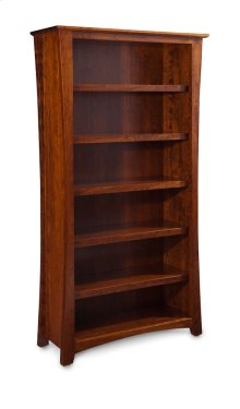 Loft Open Bookcase, Loft Open Bookcase, 4-Adjustable Shelves