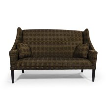 Sofa with Black Shaker Leg