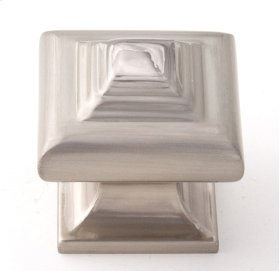 Geometric Knob A1525 - Satin Nickel
