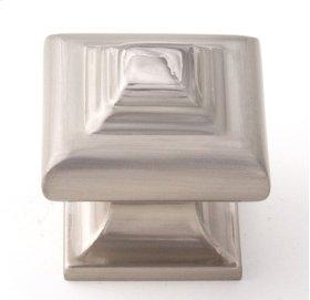 Geometric Knob A1525 - Satin Nickel