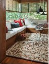 Timber Lodge Beige Hand Tufted Rugs