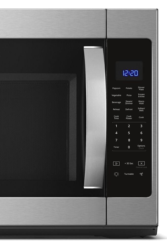 Wmh53521hz Whirlpool 2 1 Cu Ft Over The Range Microwave