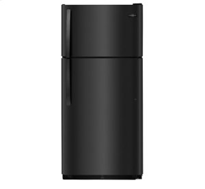 Frigidaire 18 Cu. Ft. Top Freezer Refrigerator, Scratch & Dent, Black
