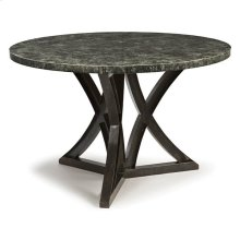 Lfd - After Midnight Zinc Top Dining Table (52 Inches)