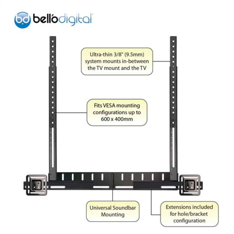 7912b In By Bello In Bridgeton Mo Universal Soundbar Mount For Tv