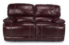 Belmont Leather Power Reclining Love Seat