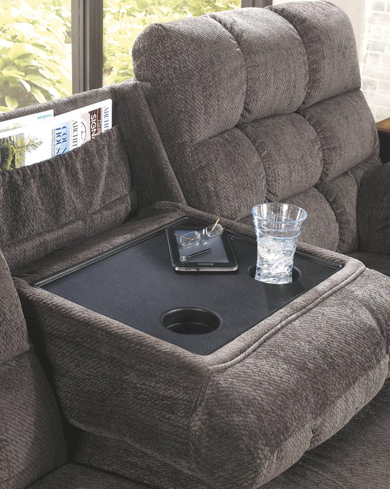 Hidden · Additional REC Sofa W/Drop Down Table