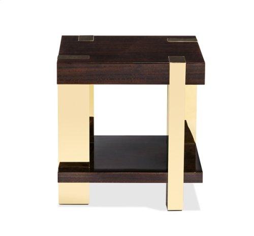 Jordan Side Table - Figured Eucalyptus