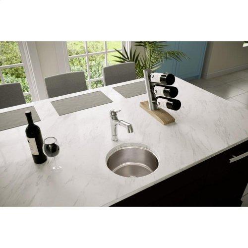 "Elkay Lustertone Classic Stainless Steel 14-3/8"" x 14-3/8"" x 6"", Single Bowl Undermount Sink"