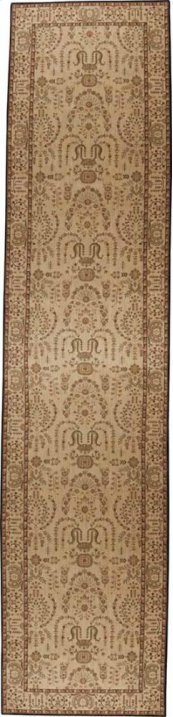 HARD TO FIND SIZES GRAND PARTERRE PT02 BEIGE RECTANGLE RUG 6' x 26'