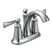 Wynford chrome two-handle bathroom faucet