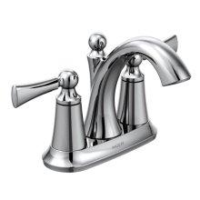 Wynford chrome two-handle bathroom faucet