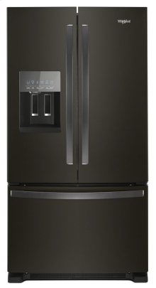 36-inch Wide French Door Refrigerator in Fingerprint-Resistant Stainless Steel - 25 cu. ft.