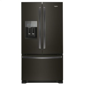 36-inch Wide French Door Refrigerator in Fingerprint-Resistant Stainless Steel - 25 cu. ft. - FINGERPRINT RESISTANT BLACK STAINLESS