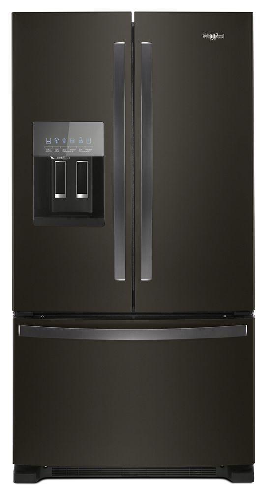 36 Inch Wide French Door Refrigerator In Fingerprint Resistant Stainless  Steel   25 Cu